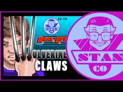 Stan Lee's Real Life Wolverine Claws