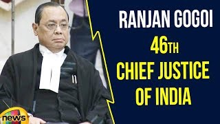Justice Ranjan Gogoi Today Took Charge as 46th Chief Justice of India | Latest News | Mango News - MANGONEWS