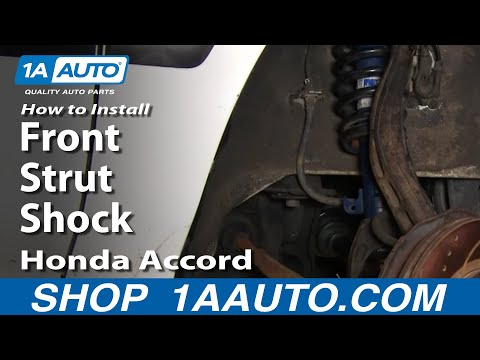 Auto Repair: Replace Front Strut Shock Honda Accord 94-97 - 1AAuto.com