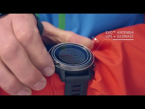 fenix 3 GPS-Multisport-/ Multifunktionsuhr Produkt-Trailer 2015 von Garmin