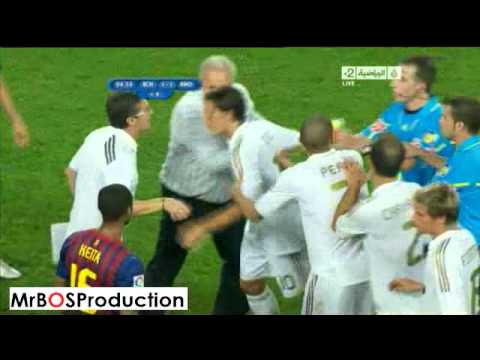 Big Fight Between Barcelona vs Real Madrid Players HQ