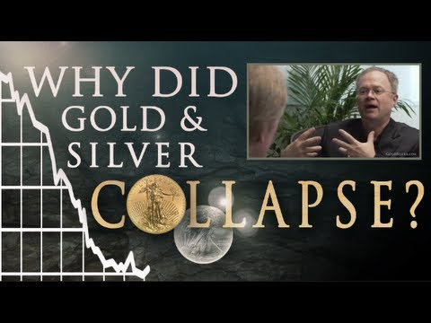 Why Did Silver & Gold Collapse? Mike Maloney and Chris Martenson