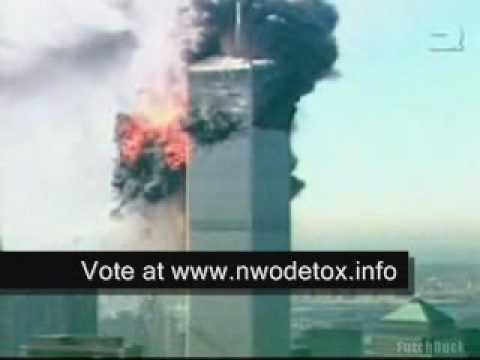 911 twin towers crash footage
