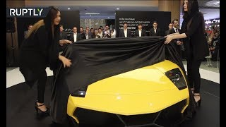 Iranians reveal reverse-engineered Lamborghini Murcielago SV - RUSSIATODAY