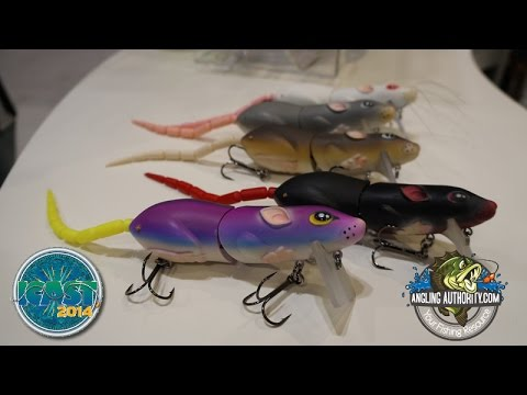 ICAST 2014 Spro BBZ-1 Rat with Bill Siemantel