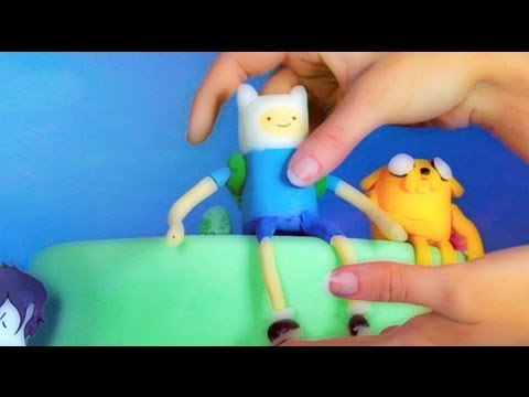 Adventure Time Cake