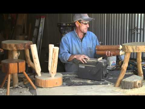 Log Furniture Tenon Cutter Jig