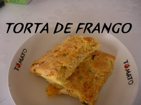 Receita de Torta de Frango