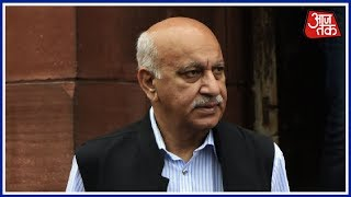 M.J. Akbar Calls Allegations Fabricated; Will Modi Govt Demand His Resignation Now? | Khabardaar - AAJTAKTV
