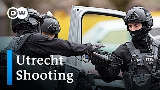 Manhunt for Utrecht shooter underway | DW News - DEUTSCHEWELLEENGLISH