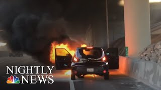 Growing Concern Over Fire Risk Involving Kia Vehicles | NBC Nightly News - NBCNEWS