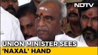 Union Minister Pon Radhakrishan Sees Maoist Hand In Tamil Nadu Protests - NDTV