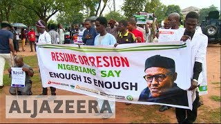 Nigeria protesters press for President Buhari's resignation over absence - ALJAZEERAENGLISH