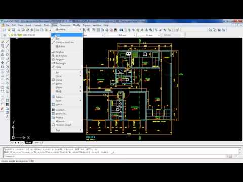 AutoCAD Aula 1.1: Interface do AutoCAD