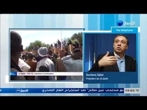 Soufiane Djilali en direct de Ain Salah au 19H Info