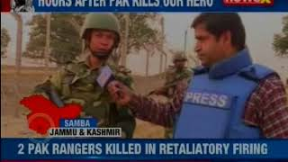 India strikes back: Hero martyred after Pak violates ceasefire; BSF ups security along the border - NEWSXLIVE