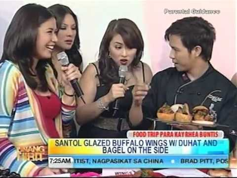 Unang Hirit with Chef Hasset Go---Rhea Santos' Birthday! June 01, 2011