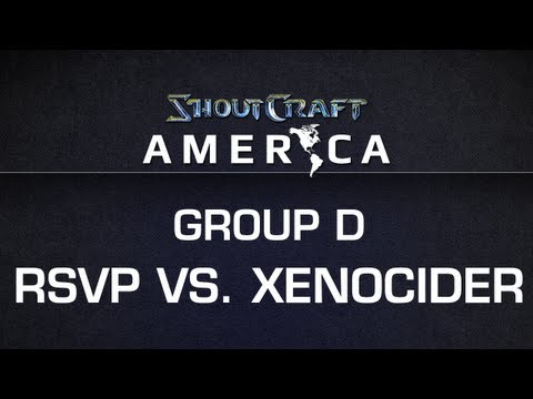 ShoutCraft America - Group D - RSVP vs. Xenocider BO3