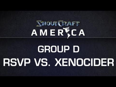 ShoutCraft America - Group D - RSVP vs. Xenocider BO3