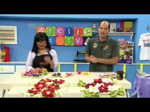 Ateliê na TV - 08/09/14 - Cristina Luriko / Glória Tommasi