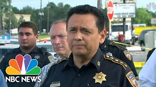 Houston Police Announce Capture Of Man Wanted For At Least Three Murders | NBC News - NBCNEWS