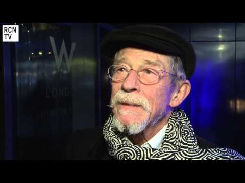 John Hurt Interview - Doctor Who 50th Anniversary, Hercules & Only Lovers Left Alive