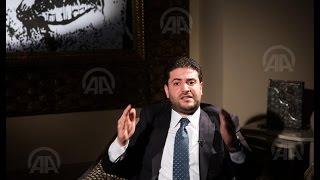 تعليق نجل مرسي على حبس أبيه لم يخرج إلا لوكالة «الأناضول»
