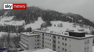 The cause of Europe's snow chaos - SKYNEWS