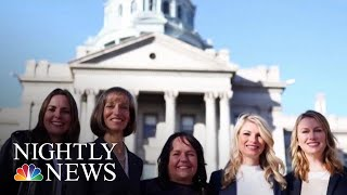 Five Best Friends Elected To Colorado's State Senate | NBC Nightly News - NBCNEWS