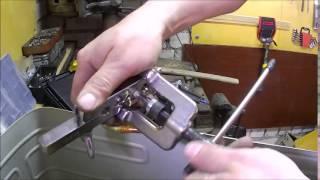 Пайка алюминиевой трубы испарителя, для холодильника Бирюса-10 (Часть 1) / Soldering aluminum