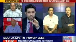 Poll Pulse: Road to Delhi via TN? - Decoding Jaya's Modi phobia - NEWSXLIVE
