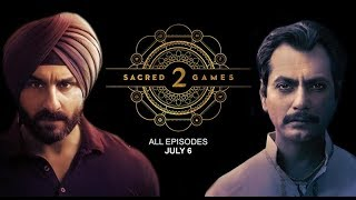 Netflix Announces Sacred Games 2 Series; सेक्रेड गेम्स 2; Saif Ali Khan, Nawazuddin Siddiqui - ITVNEWSINDIA