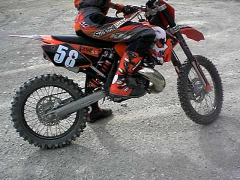 Ktm 65cc. KTM Treterei in Schottergrube