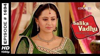 Balika Vadhu : Episode 1686 - 23rd September 2014