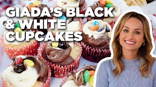Giada's Black and White Cupcakes | Food Network - FOODNETWORKTV