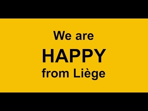 We are HAPPY from Liège - Clip Officiel