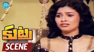 Kutra Movie Scenes - Mahalaxmi Misunderstands Arjun || Purnima || Jayanthi || KSR Das - IDREAMMOVIES