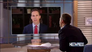 Full Hawley: 'Don't have to have Obamacare' to protect pre-existing conditions | Meet The Press - NBCNEWS