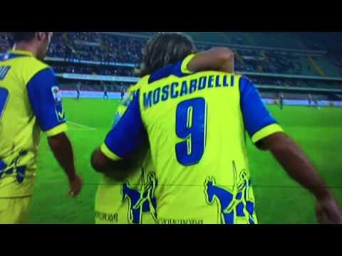 Chievo- Napoli 1-0 2012 Moscardelli FullHd