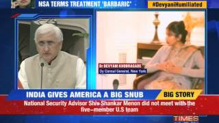 India gives America a big snub - TIMESNOWONLINE