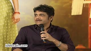 Nagarjuna press meet about Hello - idlebrain.com - IDLEBRAINLIVE
