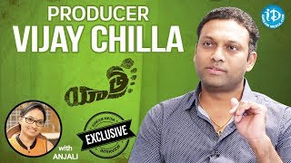 Yatra Movie Producer Vijay Chilla Exclusive Interview || Talking Movies With iDream - IDREAMMOVIES