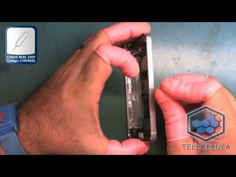 Tutorial de Desmontagem Apple iPhone 5 - TELECELULA