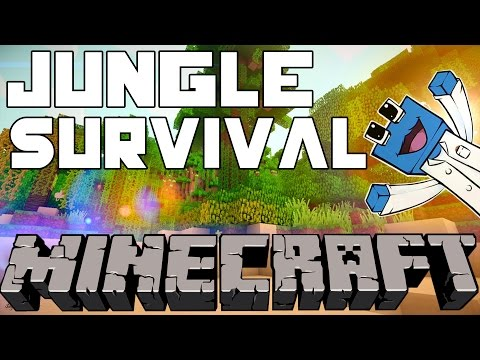 Minecraft: Jungle Survival Co Op: Ep2