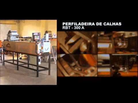 Perfiladeira de Calha, Rufo, Pingadeira Roboter