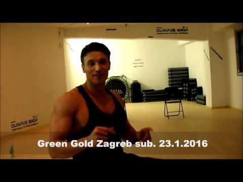 Green Gold i Total Knockout 23.10. vježba