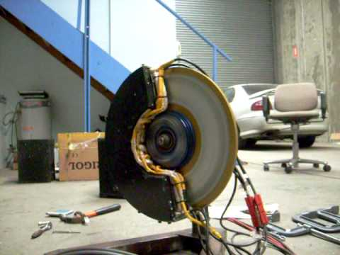 Electric Car In-Wheel Motor AC Induction