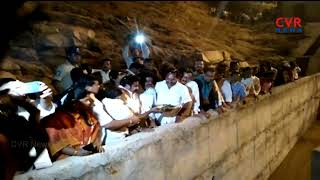 Minister Amarnath Reddy Jala harathi at Handri Neeva Water in Chittoor Dist | CVR News - CVRNEWSOFFICIAL
