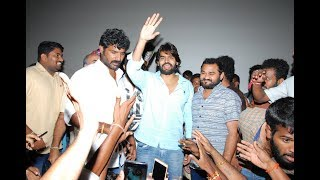Actor Karthikeya Mass Following At Guna 369 Success Tour - TFPC