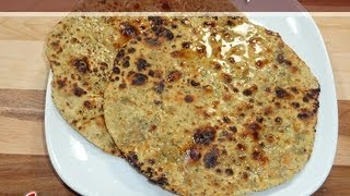 Besan Roti Flat Indian Bread Recipe